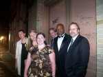 On the streets of the Quarter, dressed for Faulkner For All Ball, 2010 W&M: Sabrina, Terri, Emilie, Tad, Maurice, and J.Ed.
